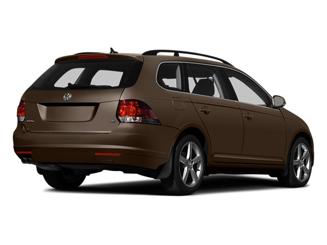 Toffee Brown Metallic 2014 Volkswagen Jetta SportWagen Pictures Jetta SportWagen Wagon 4D SE I5 photos rear view
