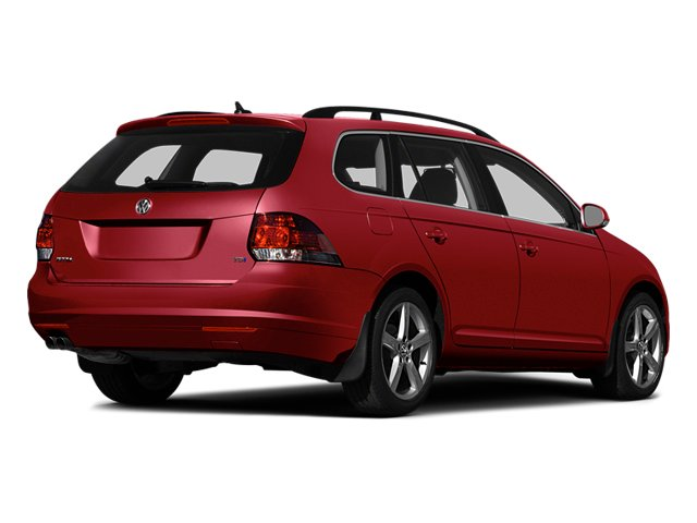 Tornado Red 2014 Volkswagen Jetta SportWagen Pictures Jetta SportWagen Wagon 4D SE I5 photos rear view