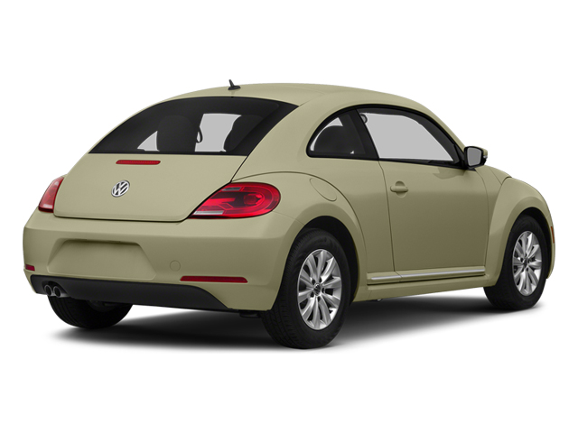 Moonrock Silver Metallic 2014 Volkswagen Beetle Coupe Pictures Beetle Coupe 2D 1.8T I4 Turbo photos rear view
