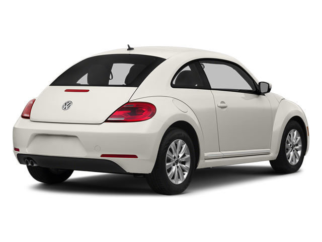 Pure White 2014 Volkswagen Beetle Coupe Pictures Beetle Coupe 2D 1.8T I4 Turbo photos rear view