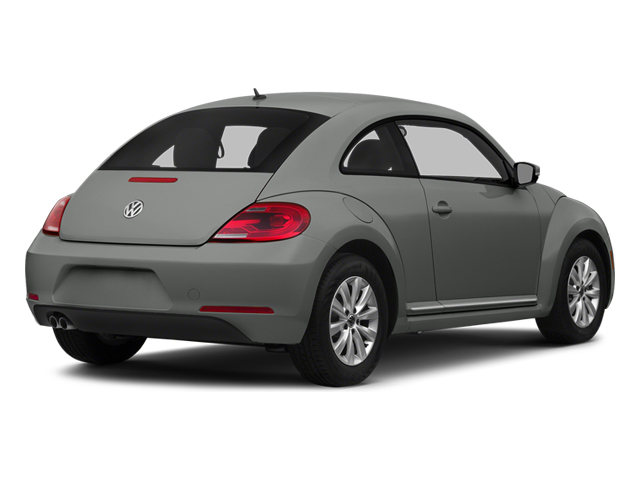 Platinum Gray Metallic 2014 Volkswagen Beetle Coupe Pictures Beetle Coupe 2D 2.5 Entry I5 photos rear view