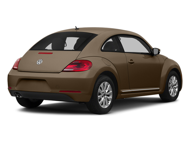 Toffee Brown Metallic 2014 Volkswagen Beetle Coupe Pictures Beetle Coupe 2D 1.8T I4 Turbo photos rear view