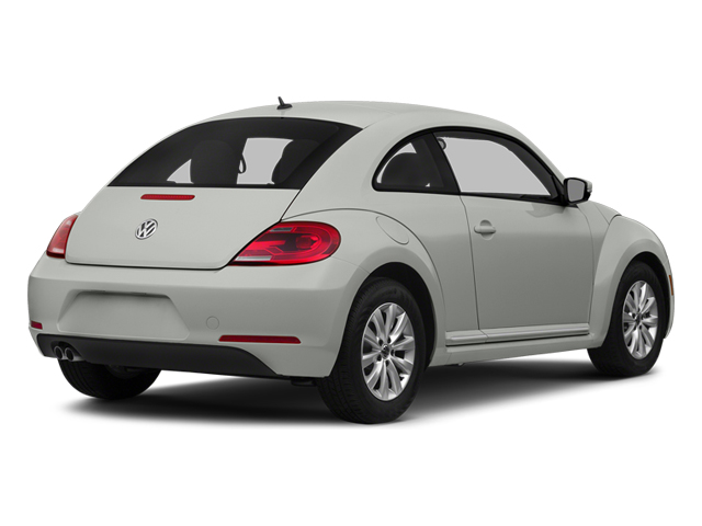 Reflex Silver Metallic 2014 Volkswagen Beetle Coupe Pictures Beetle Coupe 2D 1.8T I4 Turbo photos rear view
