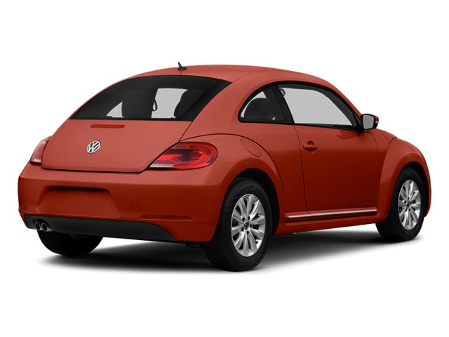 Tornado Red 2014 Volkswagen Beetle Coupe Pictures Beetle Coupe 2D 2.5 Entry I5 photos rear view