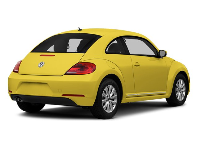 Yellow Rush 2014 Volkswagen Beetle Coupe Pictures Beetle Coupe 2D 1.8T I4 Turbo photos rear view