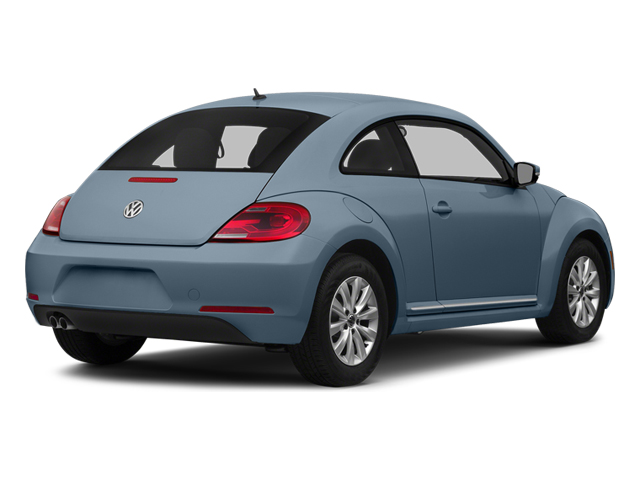 Denim Blue 2014 Volkswagen Beetle Coupe Pictures Beetle Coupe 2D 1.8T I4 Turbo photos rear view