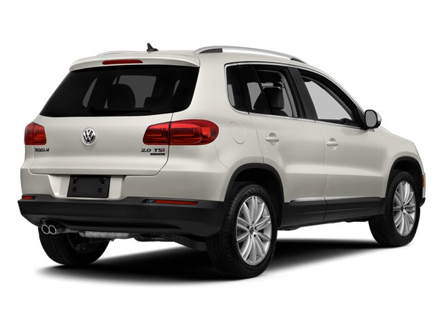 Pure White 2014 Volkswagen Tiguan Pictures Tiguan Utility 4D SEL AWD I4 Turbo photos rear view