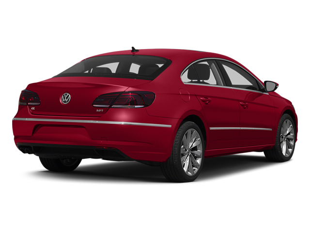Fortana Red 2014 Volkswagen CC Pictures CC Sedan 4D Sport I4 Turbo photos rear view