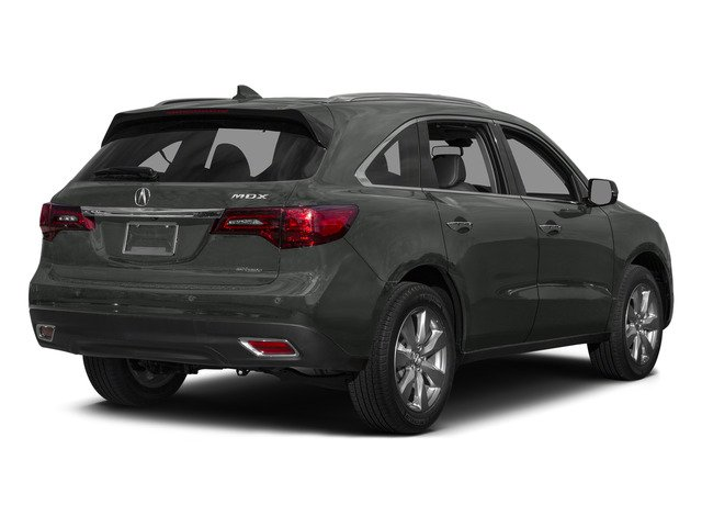 Forest Mist Metallic 2015 Acura MDX Pictures MDX Utility 4D Advance DVD AWD V6 photos rear view