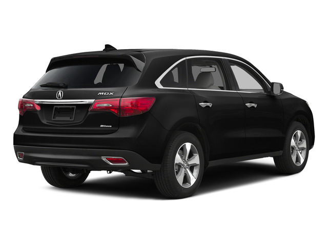 Crystal Black Pearl 2015 Acura MDX Pictures MDX Utility 4D 2WD V6 photos rear view