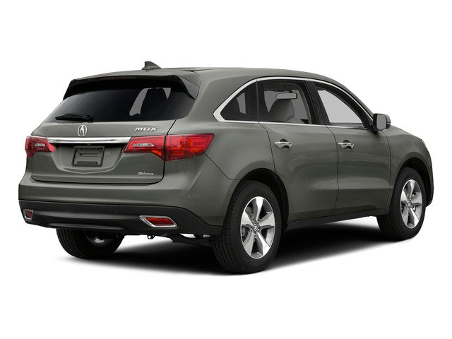 Silver Moon 2015 Acura MDX Pictures MDX Utility 4D 2WD V6 photos rear view