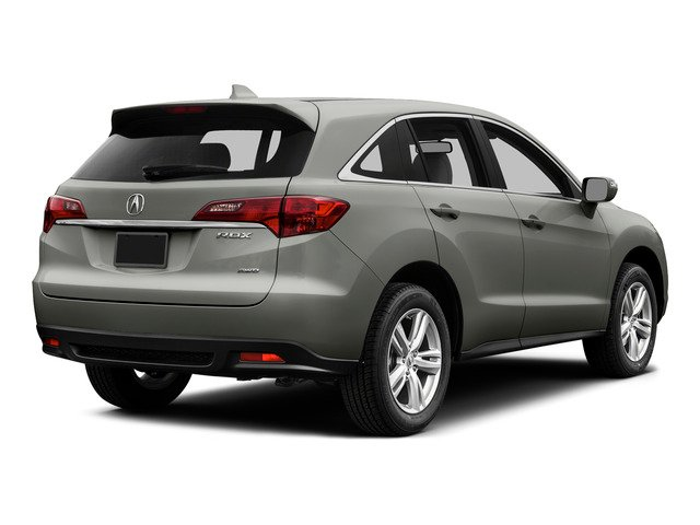 Forged Silver Metallic 2015 Acura RDX Pictures RDX Utility 4D Technology AWD V6 photos rear view