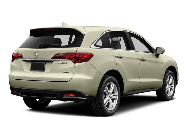 White Diamond Pearl 2015 Acura RDX Pictures RDX Utility 4D Technology AWD V6 photos rear view