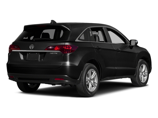 Crystal Black Pearl 2015 Acura RDX Pictures RDX Utility 4D Technology 2WD V6 photos rear view