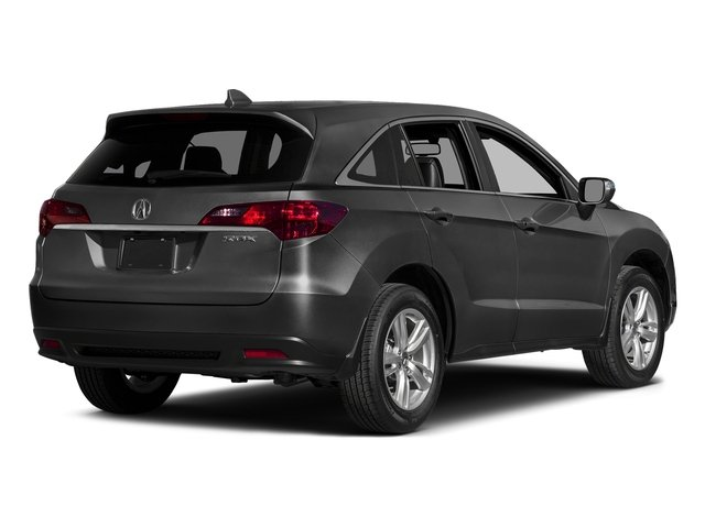 Graphite Luster Metallic 2015 Acura RDX Pictures RDX Utility 4D Technology 2WD V6 photos rear view