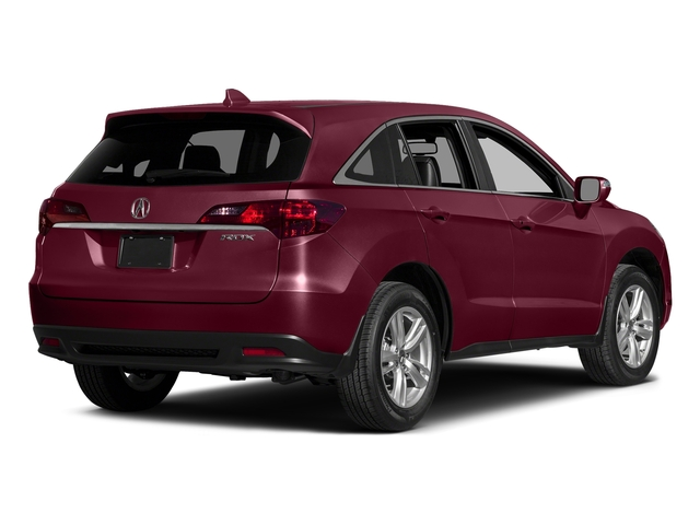 Basque Red Pearl II 2015 Acura RDX Pictures RDX Utility 4D Technology 2WD V6 photos rear view