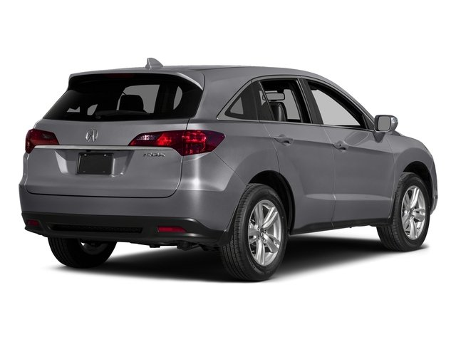 Forged Silver Metallic 2015 Acura RDX Pictures RDX Utility 4D Technology 2WD V6 photos rear view