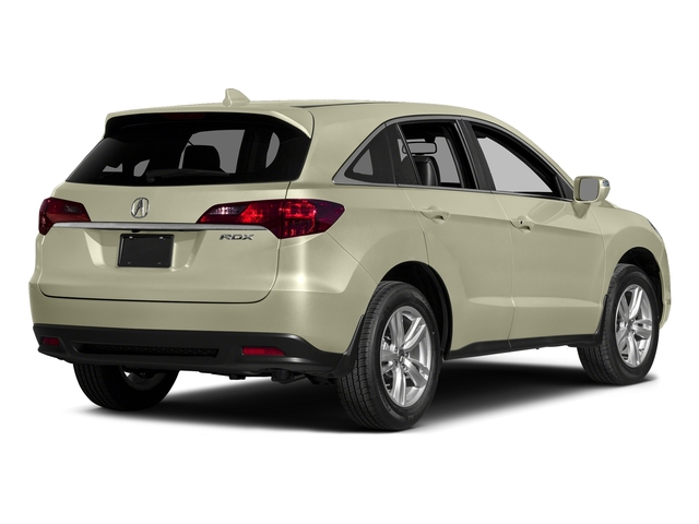 White Diamond Pearl 2015 Acura RDX Pictures RDX Utility 4D Technology 2WD V6 photos rear view