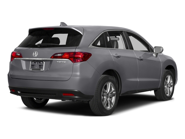 Forged Silver Metallic 2015 Acura RDX Pictures RDX Utility 4D 2WD V6 photos rear view