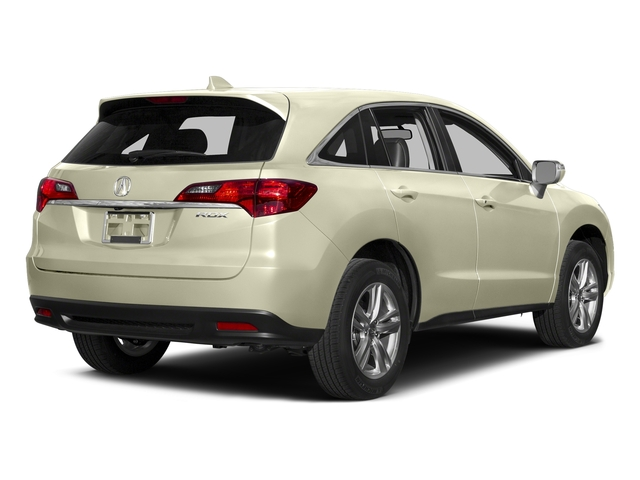 White Diamond Pearl 2015 Acura RDX Pictures RDX Utility 4D 2WD V6 photos rear view