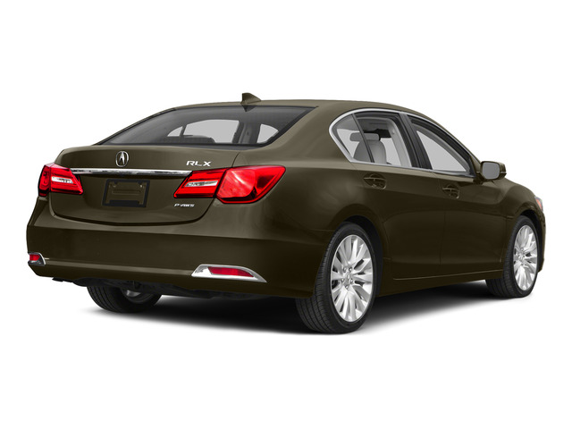 Gilded Pewter Metallic 2015 Acura RLX Pictures RLX Sedan 4D Technology V6 photos rear view