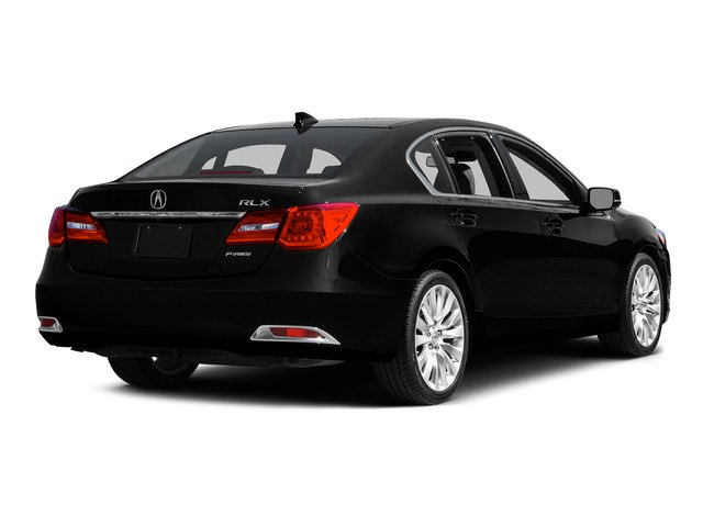 Crystal Black Pearl 2015 Acura RLX Pictures RLX Sedan 4D Advance V6 photos rear view