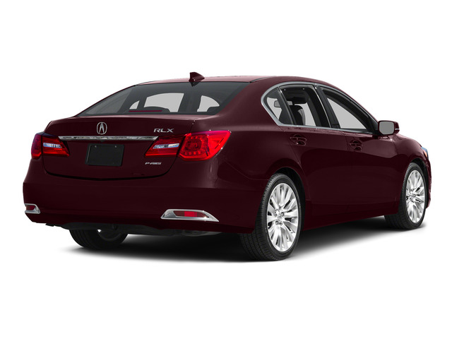 Pomegranate Pearl 2015 Acura RLX Pictures RLX Sedan 4D Advance V6 photos rear view