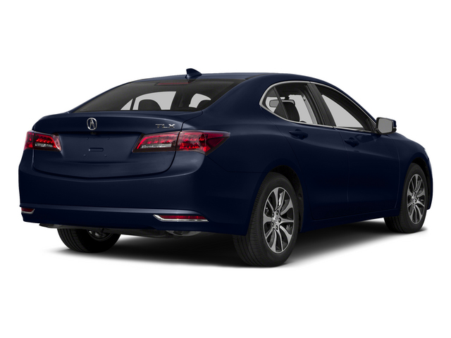 Fathom Blue Pearl 2015 Acura TLX Pictures TLX Sedan 4D I4 photos rear view