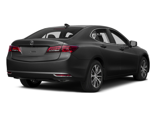 Graphite Luster Metallic 2015 Acura TLX Pictures TLX Sedan 4D I4 photos rear view