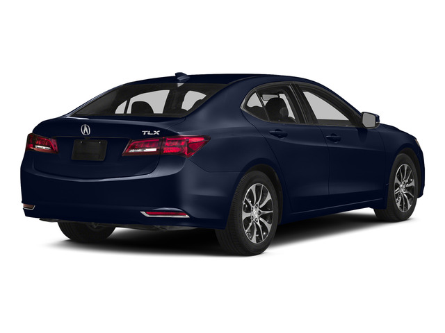 Fathom Blue Pearl 2015 Acura TLX Pictures TLX Sedan 4D Technology I4 photos rear view