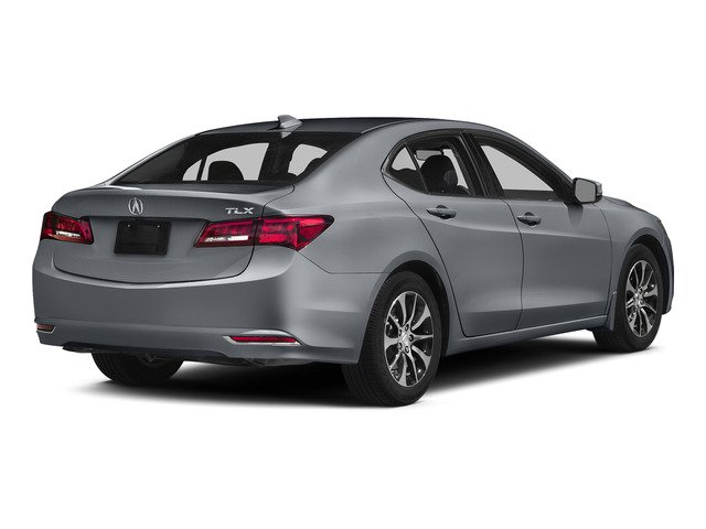 Slate Silver Metallic 2015 Acura TLX Pictures TLX Sedan 4D Technology I4 photos rear view