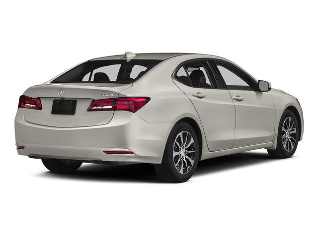 Bellanova White Pearl 2015 Acura TLX Pictures TLX Sedan 4D Technology I4 photos rear view