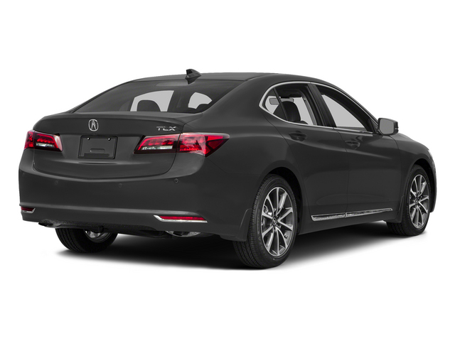 Graphite Luster Metallic 2015 Acura TLX Pictures TLX Sedan 4D Advance V6 photos rear view