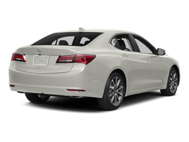 Bellanova White Pearl 2015 Acura TLX Pictures TLX Sedan 4D V6 photos rear view