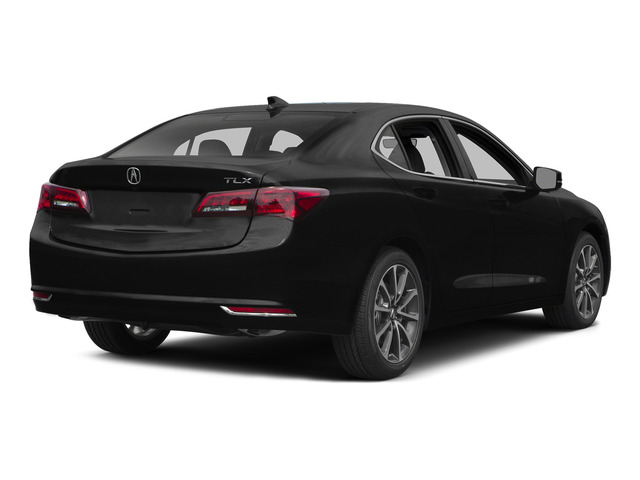 Crystal Black Pearl 2015 Acura TLX Pictures TLX Sedan 4D Technology V6 photos rear view