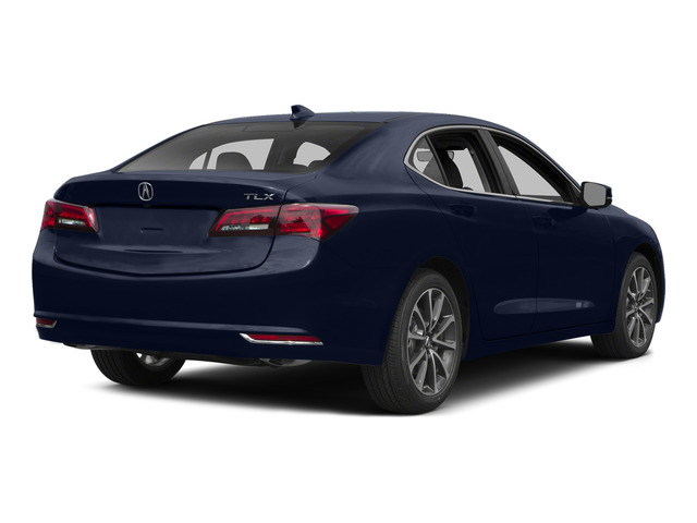 Fathom Blue Pearl 2015 Acura TLX Pictures TLX Sedan 4D Technology V6 photos rear view