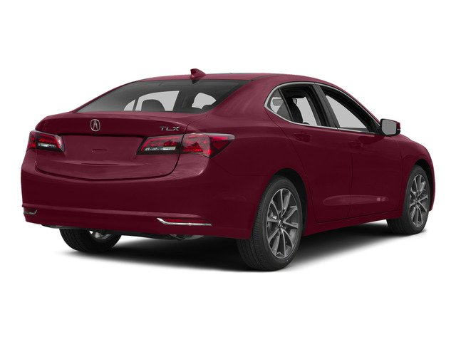 Basque Red Pearl II 2015 Acura TLX Pictures TLX Sedan 4D Technology V6 photos rear view