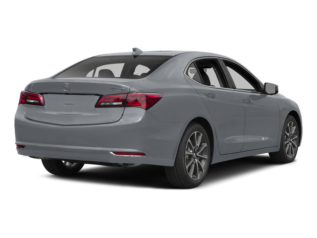 Slate Silver Metallic 2015 Acura TLX Pictures TLX Sedan 4D Technology V6 photos rear view