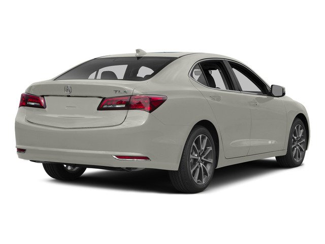 Bellanova White Pearl 2015 Acura TLX Pictures TLX Sedan 4D Technology V6 photos rear view
