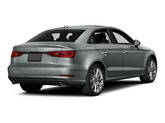 Monsoon Gray Metallic 2015 Audi A3 Pictures A3 Sedan 4D 1.8T Premium I4 Turbo photos rear view