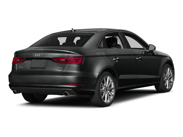 Mythos Black Metallic 2015 Audi A3 Pictures A3 Sed 4D TDI Premium Plus 2WD I4 Turbo photos rear view