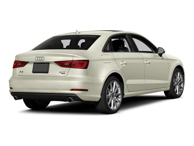 Glacier White Metallic 2015 Audi A3 Pictures A3 Sedan 4D 1.8T Premium I4 Turbo photos rear view
