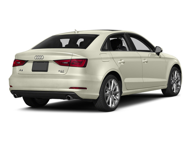 Glacier White Metallic 2015 Audi A3 Pictures A3 Sedan 4D TDI Prestige 2WD I4 Turbo photos rear view