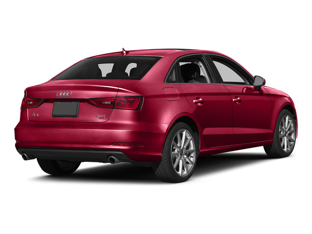 Brilliant Red 2015 Audi A3 Pictures A3 Sedan 4D 1.8T Premium I4 Turbo photos rear view