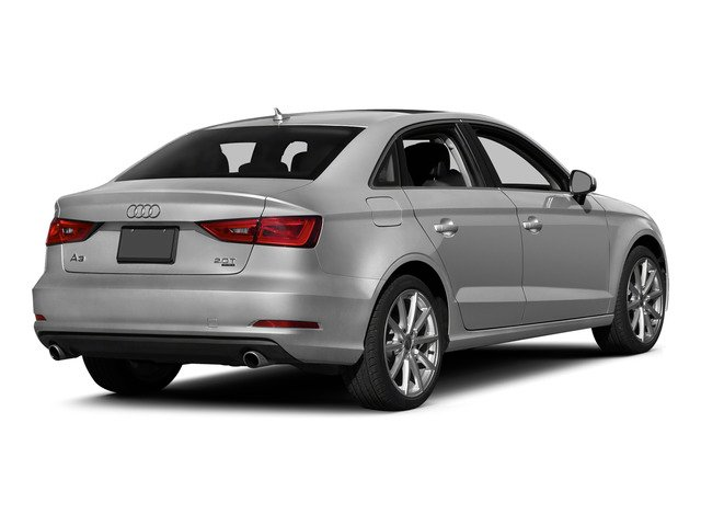 Ice Silver Metallic 2015 Audi A3 Pictures A3 Sedan 4D 1.8T Premium I4 Turbo photos rear view