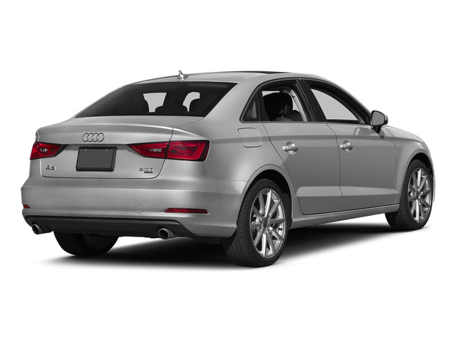 Ice Silver Metallic 2015 Audi A3 Pictures A3 Sedan 4D TDI Prestige 2WD I4 Turbo photos rear view