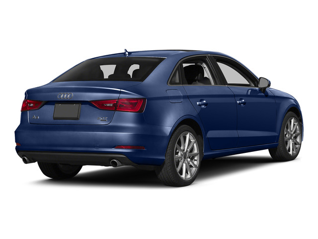 Scuba Blue Metallic 2015 Audi A3 Pictures A3 Sedan 4D TDI Prestige 2WD I4 Turbo photos rear view