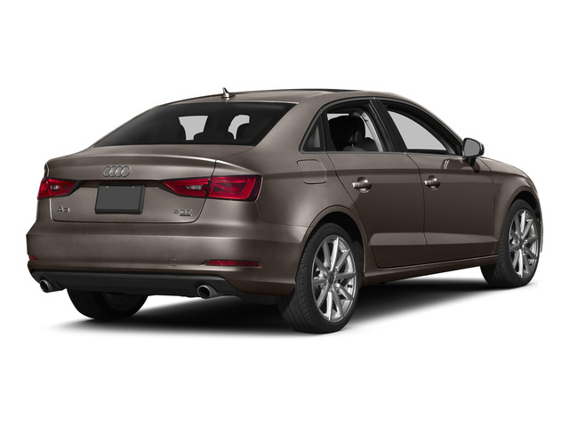 Dakota Gray Metallic 2015 Audi A3 Pictures A3 Sed 4D TDI Premium Plus 2WD I4 Turbo photos rear view