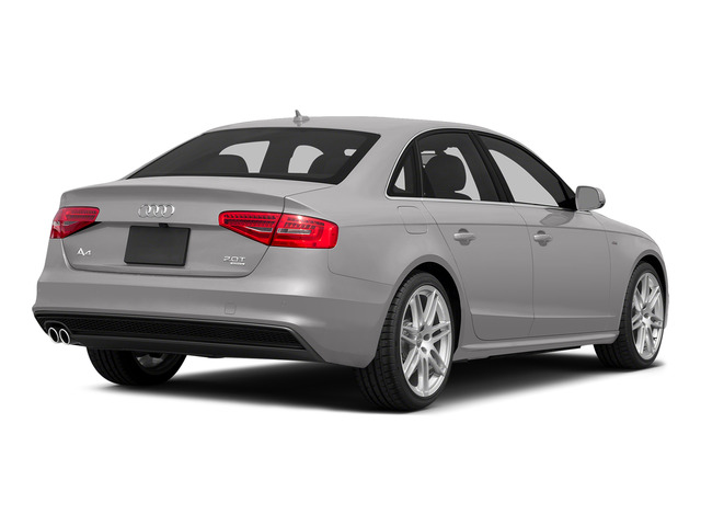 Cuvee Silver Metallic 2015 Audi A4 Pictures A4 Sedan 4D 2.0T Prestige 2WD photos rear view