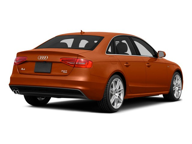 Volcano Red Metallic 2015 Audi A4 Pictures A4 Sedan 4D 2.0T Prestige 2WD photos rear view